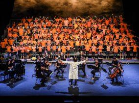 2000 alumnes omplen de música el Teatre Victòria