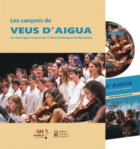 Llibre amb CD: cantata juvenil Veus d'Aigua