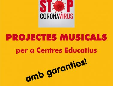 ALTERNATIVES PER GARANTIR LES CANTATES 2021