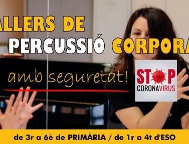 PERCUSSIÓ CORPORAL SEGURA DAVANT LA COVID-19
